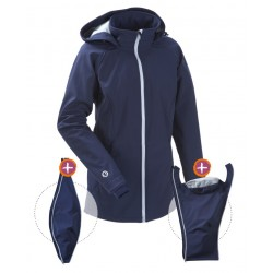 Softshell Babywearing 3in1 Jacket (MAMALILA, navy)