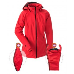 Softshell Babywearing 3in1 Jacket (MAMALILA, red)