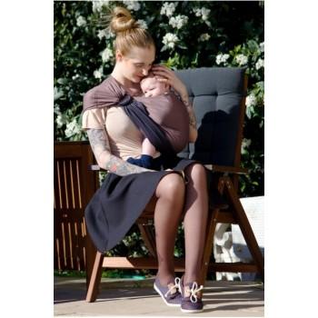 LOVE RADIUS sling, Anthracite/Marron