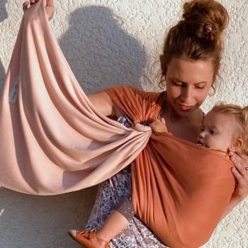 LOVE RADIUS sling, Nude/Caramel