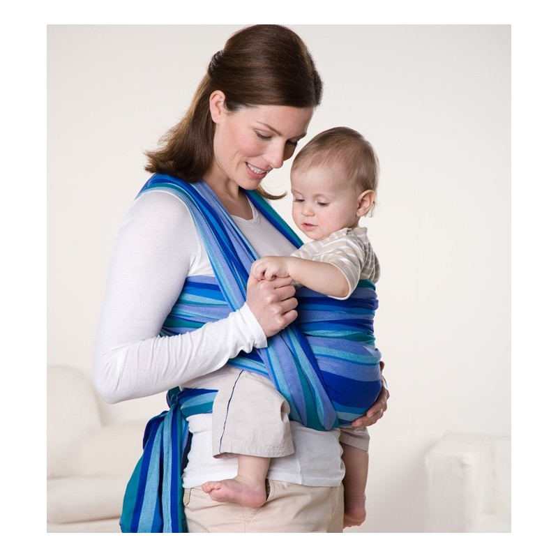 how to carry baby in sling
